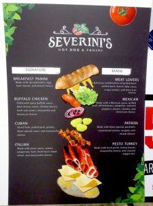 custom menu board for restaurant