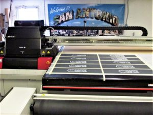 Custom sign production San Antonio
