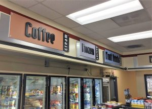 San Antonio Business Signs indoor retail custom dimensional letter signs 300x215